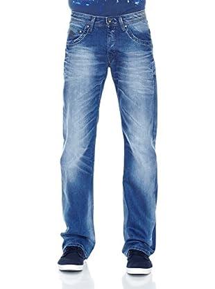 Pepe Jeans London Vaquero Jeanius (Azul Medio)