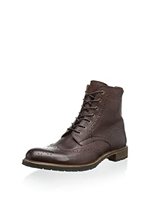 Modern Fiction Men's Brogue Boot (Brown)