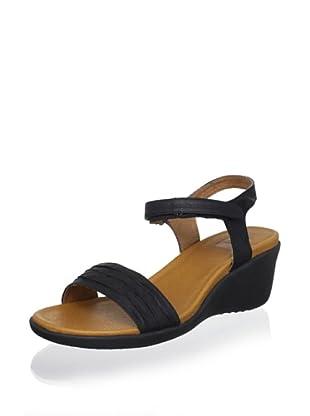 Cougar Women's Malta Wedge Sandal (Black)