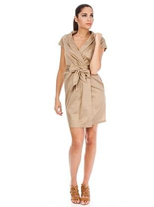 Cortefiel Kleid (Braun)