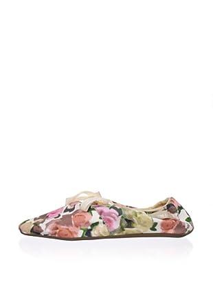 Ballasox by Corso Como Women's Dance Lace-Up (Floral/Multi Fabric)