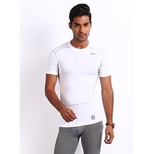 Nike White Core Compreion 2 Training Tshirts