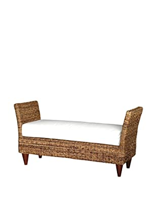 Jeffan Francis Double Bench, Natural/White
