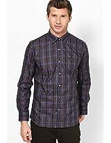Black Checks Casual Shirt