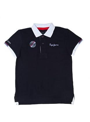 Pepe Jeans London Polo Racecar Junior (Azul)