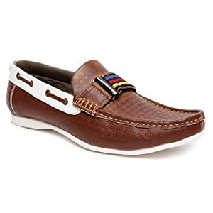 Bacca Bucci Brown Men Loafers - 2050