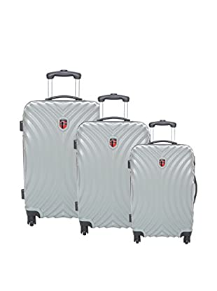 Geographical Norway Set de 3 trolleys rígidos Stadium