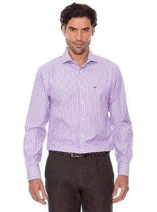 Pedro Del Hierro Camisa Rayas (Violeta)
