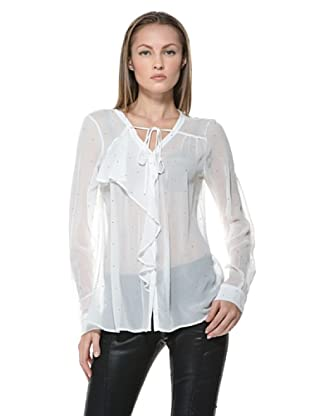 Fairly Blusa Strass (Blanco)