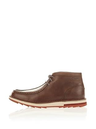 Clarks Leder Desert Boot Mumford Folk (Braun)