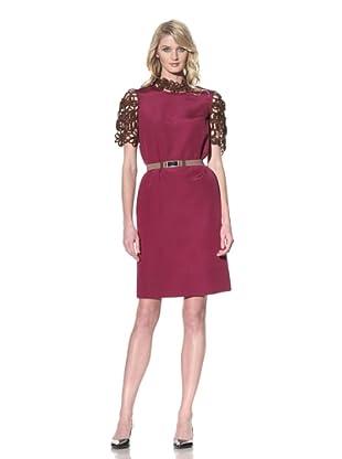 MARNI Women's Short Sleeve Dress (Dry Rose)