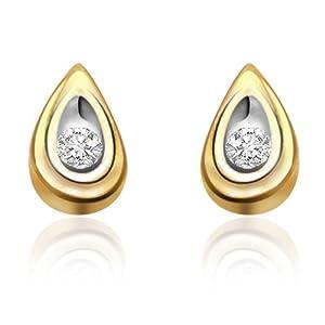 Surat Diamonds Womens Stud Earrings