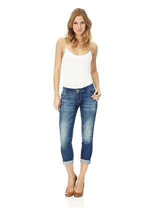 Lotus Jeans 7/8 Jeans Vivivan Flood Supertrech (boda wash)
