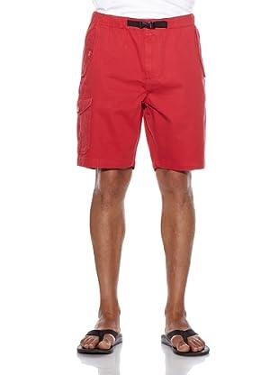 Burton Bermuda Chino (Rojo oscuro)