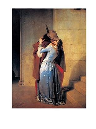 Artopweb Wandbild Hayez Il Bacio 60x80 cm mehrfarbig