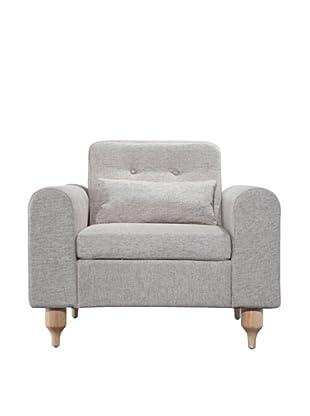 International Design USA Langley Accent Chair, Oatmeal