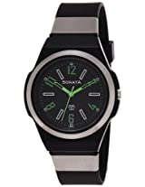 Sonata Analog Black Dial Women's Watch - NC7979PP01