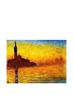 Legendarte Leinwandbild San Giorgio Maggiore Al Crepuscolo