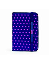BUILT Neoprene Slim Cover for iPad mini Dot Navy