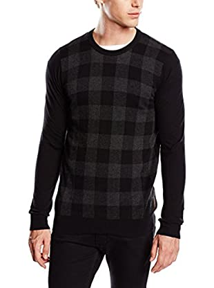 Ben Sherman Pullover The Gingham Check Crew