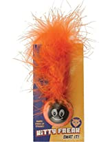 Pet Sport USA Kitty Freak Ladybug Cat Toy (Colours may vary)