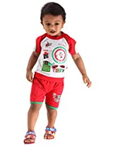 Kids Wear Online Short Sleeves T Shirt Round Neck Embroidery Designs Ticky