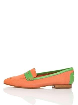 Flavio Menorca Mocasines Tod (Naranja / Verde Menta)