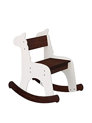 P'kolino Zebra Rocking Chair, Café con Leche