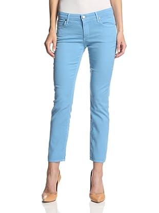 Agave Women's Paloma Crop Jean (parisian blue)
