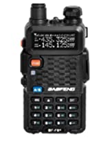 BaoFeng BF-F8+ (USA Warranty) Dual-Band 136-174/400-520 MHz FM Ham Two-way Radio, Transceiver, HT - With Battery, Antenna, Charger, and More