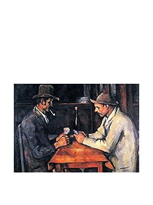 Legendarte Leinwandbild Paul Cezanne - Giocatori Di Carte