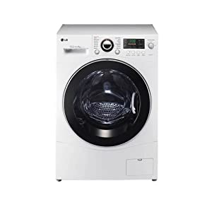 LG 9 Kg RC9041C3Z Front Loading Fully Automatic Washing Machine-Metallic