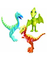 Learning Curve Dinosaur Train Collectible Dinosaur 3 Pack - My Friends Are Bipeds: Derek, Ollie, Mr. Pteranodon