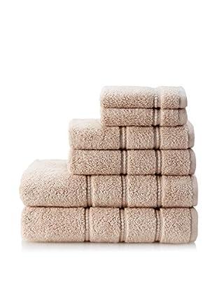 Espalma 6-Piece Casa Terry Towel Set, Bleached Sand