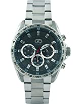Gio Collection Analog Black Dial Men's Watch - G0061-11