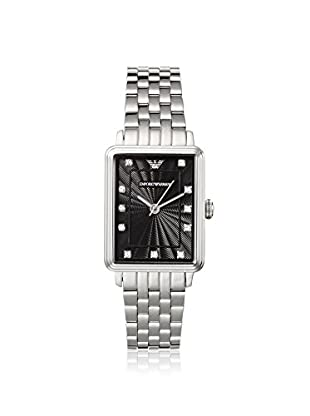 Emporio Armani Men's AR1665 Silver/Black Stainless Steel Watch