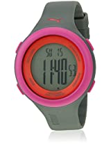 Fit 89106304 Grey/Pink Digital Watch Puma