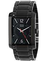 Esq By Movado Synthesis Black Ion Mens Watch 07301411