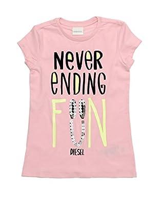Diesel Camiseta Turcolat (Rosa)