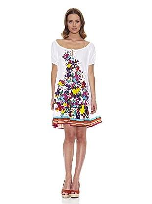 Peace & Love Vestido Flores (Multicolor)
