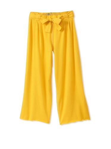 Soft Clothing Kid's Jesse Wide Leg Pant (Desert Sunset)