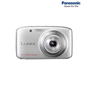 Panasonic Lumix DMC-S5 16.1MP Point-and-Shoot Digital Camera (Silver) with SD Card, Carry Case