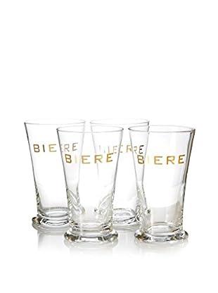 ACME Party Box Set of 4 Biere Glasses