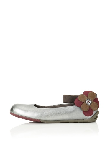 umi Kid's Panache Ballet Flat (Toddler/Little Kid) (Pewter)