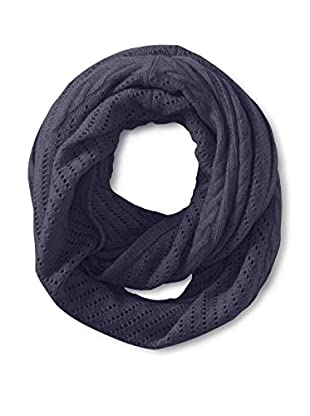 Cullen Women's Cashmere Multi-Texture Infinity Scarf, Ink