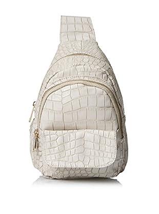Urban Originals Women's Runway Croc Embossed Small Backpack, Stone