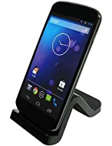 C&E CNE03907 USB Sync and Charge Cradle for Google Nexus 4 - Non-Retail Packaging - Black