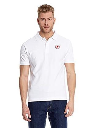 Polo Club Poloshirt Custom Fit Logo Small