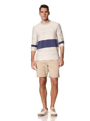 Timo Weiland Men's Stripe Sweatshirt (Grey)