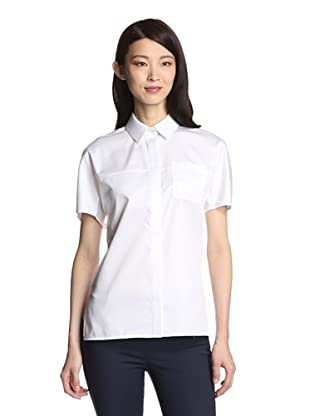 Jason Wu Women's Button Front Shirt (White)